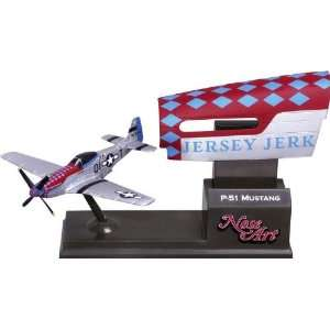 Corgi P51 Jersey Jerk   Nose Art Model Airplane
