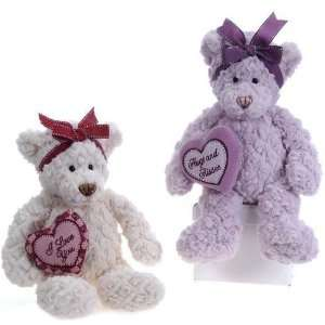 13 2 Assorted Color Antique Girl Bears Case Pack 12 Toys