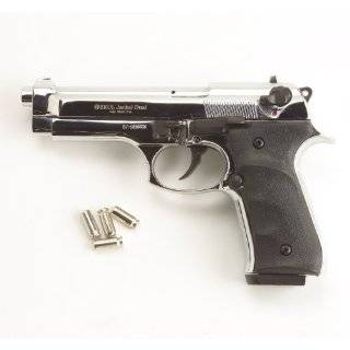 Firing Replica Starter Pistol 9mm   Silver Finish