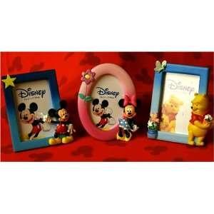 Set /3 Disney Mickey, Minnie & Pooh Frames