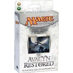 Intro Pack Angelic Might Theme Deck (White/Green) Toys & Games
