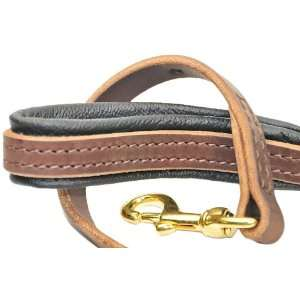 Dean & Tyler Soft Touch Leather Dog Leash   High Quality Leather Form
