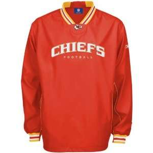 Reebok Kansas City Chiefs Red Play Dry Hot Jacket