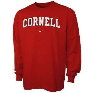 Cornell Big Red College Classic Long Sleeve T shirt