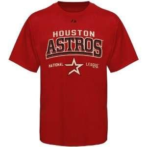 Majestic Houston Astros Youth Built Legacy T shirt   Brick