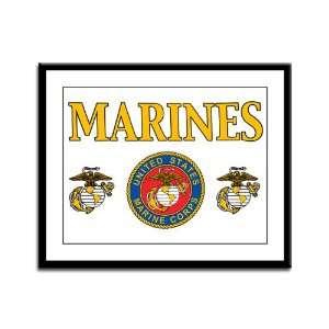 Panel Print Marines United States Marine Corps Seal