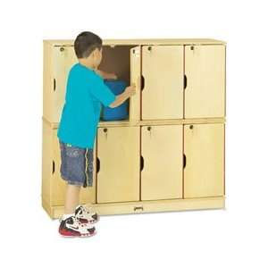 Jonti Craft Stacking Lockable Lockers Home & Kitchen