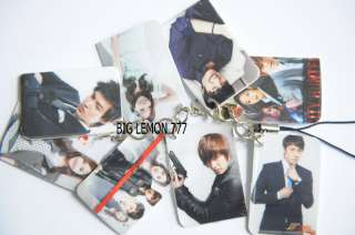 City Hunter Mobile Phone Strap Keychain N1 Lee Min Ho