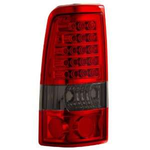 2003 2006 Chevy Silverado Led Tail Lights Red/smoke