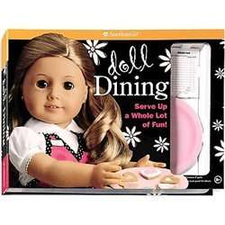 NEW Doll Dining   American Girl (COR) 9781593697747