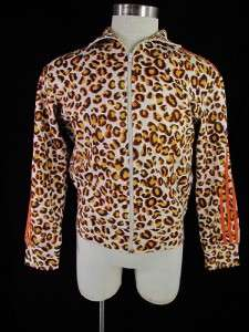 Adidas Jeremy Scott ObyO Leopard Firebird Track Suit XL Jacket Top AND