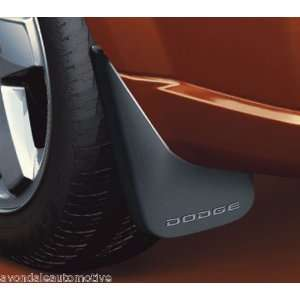 Dodge Caliber 2007 2012 Moulded Splash Guards Mopar OEM