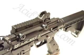 Acid Tactical AR Scope mount & Adjustable Iron sight Airsoft M4 Rifle