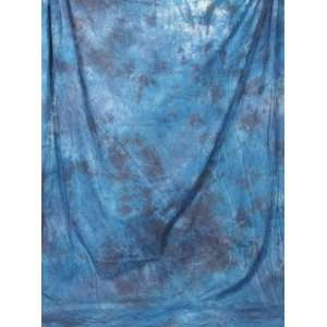 Ardinbir Studio 10 x 12 ft 100% Cotton Ocean Blue 3 Hand