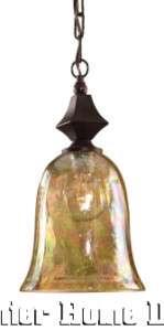 Old World Tuscan Mini Pendant Lighting Crackle Globe