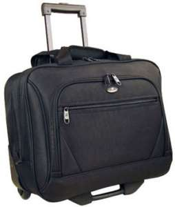 Olympia Wheeled Laptop Computer Case Briefcase NWT