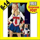 SAILOR MOON Costume COSPLAY Dress Up Fantasy Outfit Ladies 6 14 New