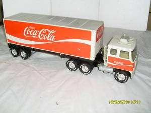 NYLINT GMC COKE COCA COLA SEMI TRACTOR TRAILER.