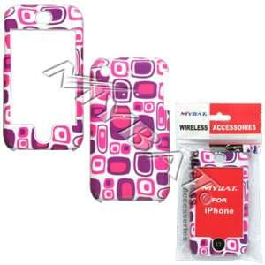 APPLE iPhone Pink Patterns Phone Protector Cover