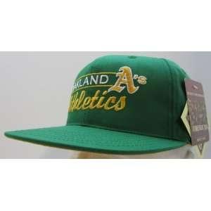 Vintage Oakland Athletics Retro Snapback Cap Everything