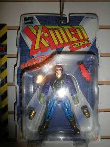 1996 Toy Biz Marvel X Men 2099 Skullfire Zombie MOC