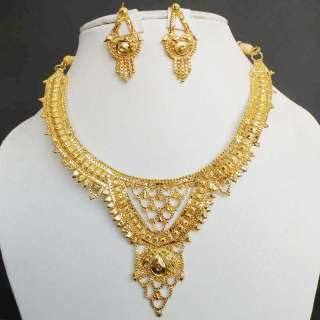 BOLLYWOOD INDIAN DESIGNER 22K GOLD PLATED BRIDAL SARI BINDI JEWELRY