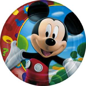 Disney MICKEY MOUSE Dinner Paper Plates Birthday Party