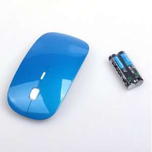 Optical Mouse For APPLE Mac Laptop Blue
