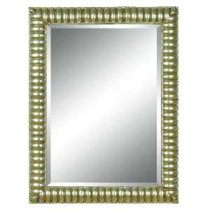 Imagination Mirrors Rectangular Transitional Framed Mirror in Antique
