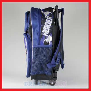 16 Justice League Rolling Backpack Roller/Bag/Superman