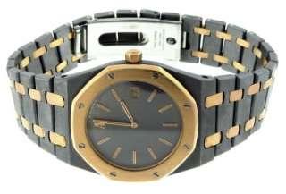 Audemars Piguet Royal Oak 18K Gold & Tantalum Quartz Date 33mm Watch