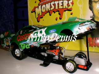 NHRA JOHN FORCE 124 Funny Car MONSERS Frankensein |