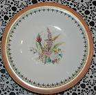 Royal Worcester Gold Beaded Hand Painted Floral Dish Pedestal Cake
