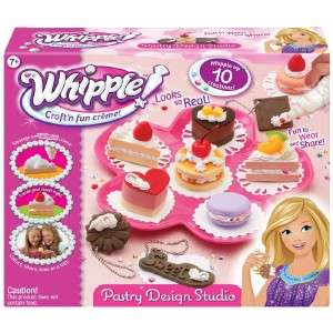 Whipple Creme Pastry Design Studio Craft Kit Keychains