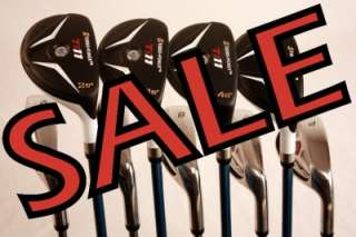 CUSTOM MADE MENS GOLF CLUBS 2 3 4 5 HYBRID 6 PW IRON SET TAYLOR FIT