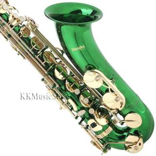 Mendini Tenor Sax Saxophone ~Gold Silver Blue Green Purple Red +Tuner