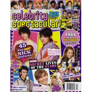 Celebrity Spectacular Magazine: Tiger Beat: Books