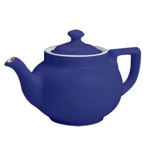 Cobalt Blue Hall China 21 10 oz. Boston Teapot 12 / CS