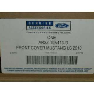 2010 2011 2012 Mustang V6 OEM Genuine Ford Parts Front End Cover Bra