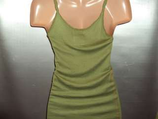 NWT Harley Davidson TRUNK Olive green tank Medium