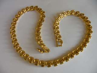 Napier Necklace Elegant Women Necklace 24kt Gold Color