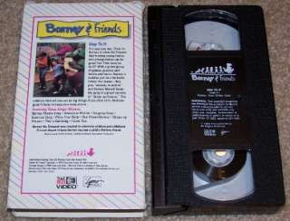 and Friends Time Life Video VHS #11 Hop To It Tested  Works Great