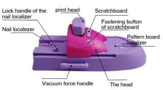 DIY printing nail art stamper kit printer machine S050