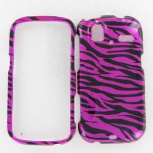 HTC Amaze 4G Zebra on Hot Pink Black Protective Case Cover