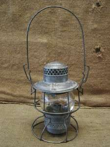 Vintage CNR Railroad Lantern  Antique Old Rail Road