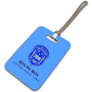 Zeta Phi Beta Luggage Tag: Everything Else