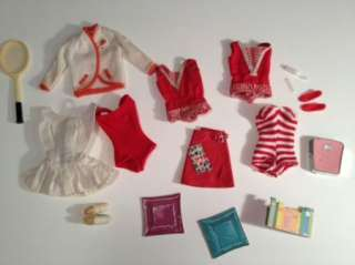 Midge Skipper Dolls Clothing Shoes Purses Accessory LOT Tagged