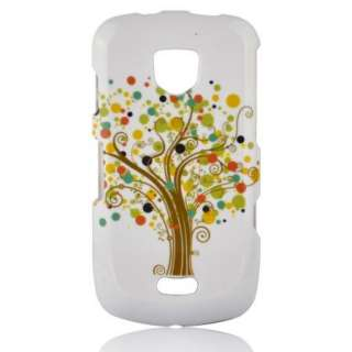 BLISSFUL TREE cell phone hard Case for Samsung DROID CHARGE i510 Blue