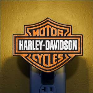 Pack of 3 Official Harley Davidson Bar & Shield Glass