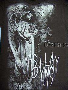 AS I LAY DYING ANGEL SPIRIT MENS T SHIRT X LARGE